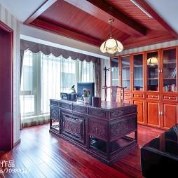古典中式风范书房装修
