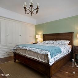 乡村美式卧室装修案例
