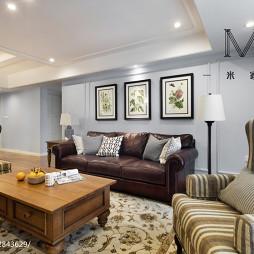 家装乡村美式客厅设计