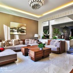 家装混搭风格别墅客厅设计