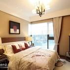 雅致中式风格卧室效果图