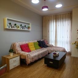 现代格调小户型客厅装修