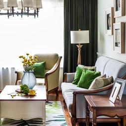 家装美式客厅装饰图