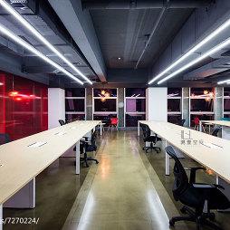 飞鱼星空办公室办公区装修