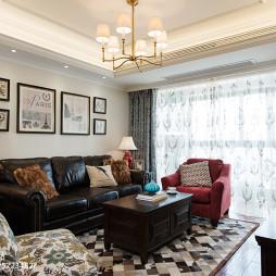 清新美式风格客厅装修
