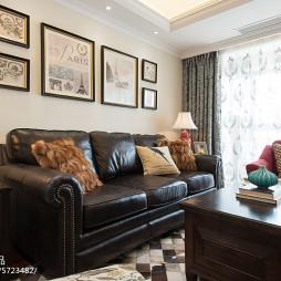 流行美式风格客厅装修