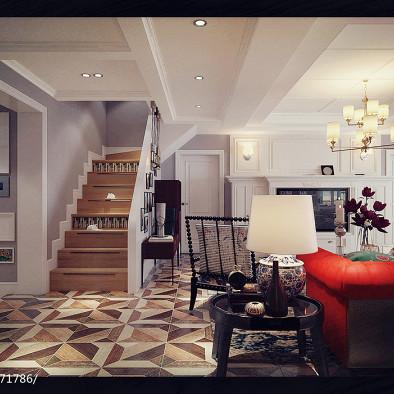 美式兼搭法式观景卫生间-北京室内设计师王怡琳作品_2447840