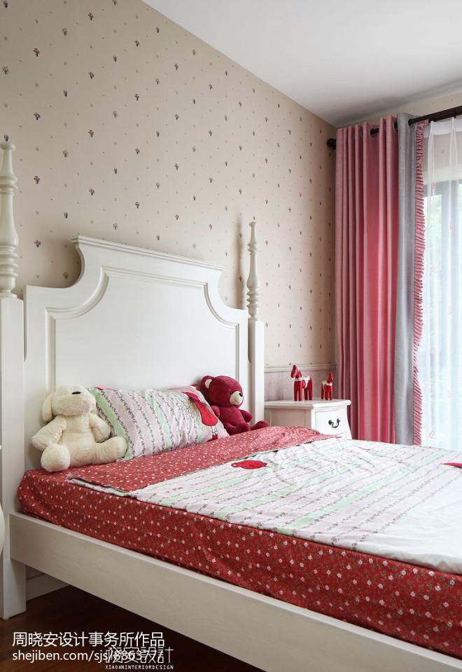 温馨美式风格别墅儿童房装修