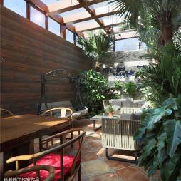 家装欧式风格别墅花园设计