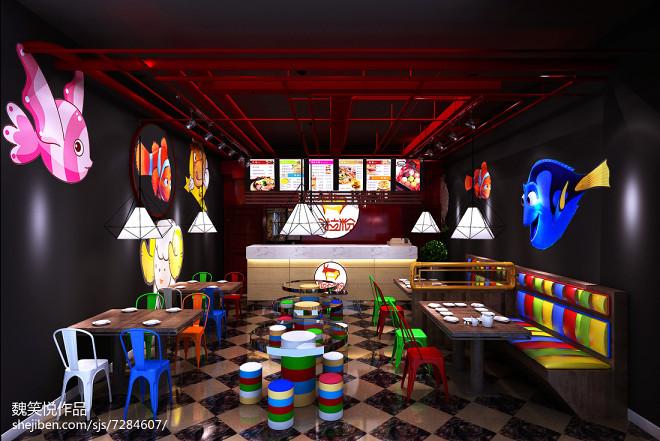 粉拉粉时尚卡通餐厅_2452160