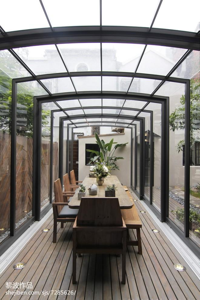 时尚混搭风格别墅花园设计