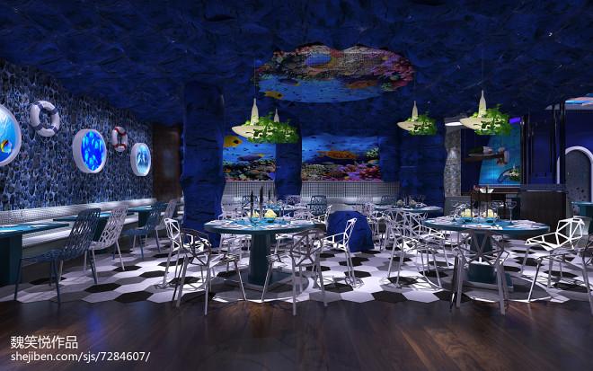 海洋风格主题餐厅_2453554