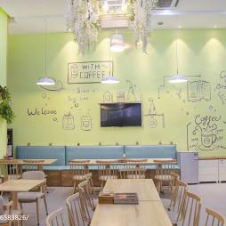 韩乐滋咖啡店座位布置