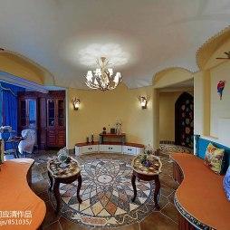家装混搭风格创意客厅设计