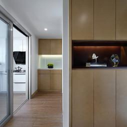现代风格三居室过道装修