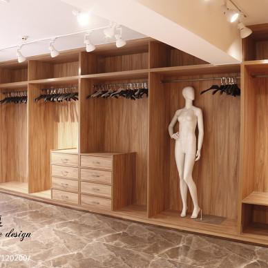 服装店展示柜设计案例