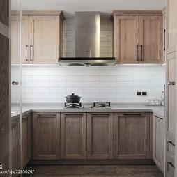 家装简约风格复式厨房设计