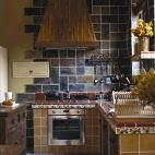复古美式家居厨房装修