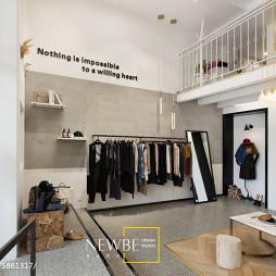 优雅服装店装修案例