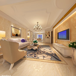 简欧住宅设计_2462412