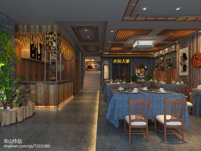 黄山市黎阳印象水街人家主题餐厅_24