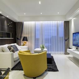 家装现代风格客厅装修大全