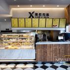 面包和盐餐厅收银台装修