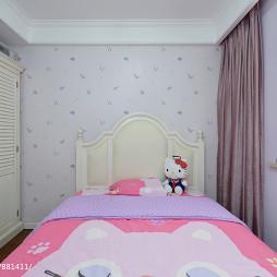 温馨美式儿童房装修