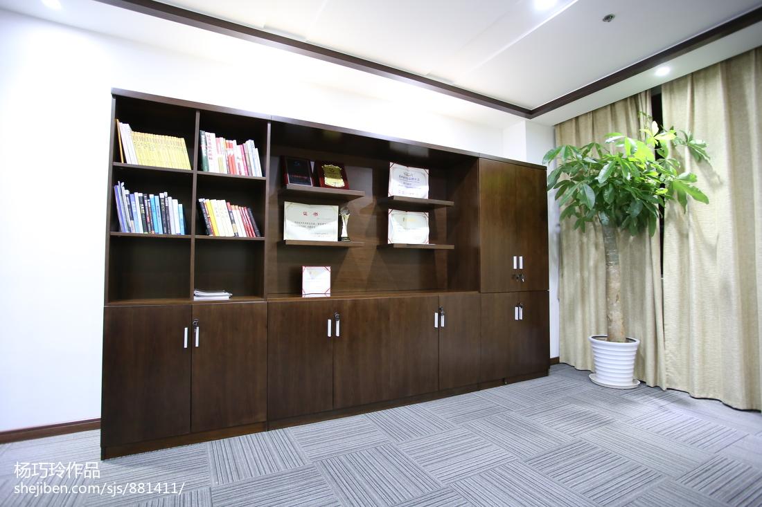 办公室书架设计效果图 设计本装修效果图