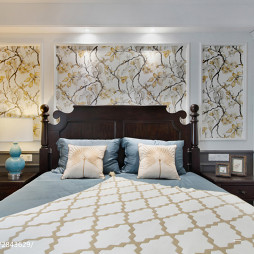美式雅韵卧室设计