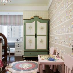美式风格温馨儿童房装修