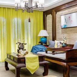 典雅中式风格客厅设计