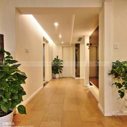 别墅现代风格过道装修案例