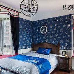 古雅美式风格卧室布置