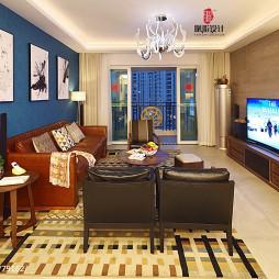 家装简约格调客厅设计案例