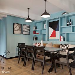 清新现代风格餐厅设计