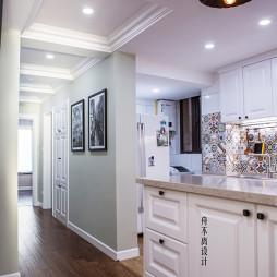 美式三居室过道设计