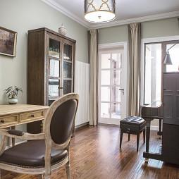现代美式风格书房设计