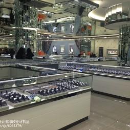 香港皇冠珠宝展示柜设计