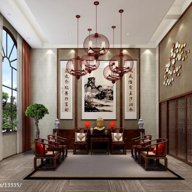 自建别墅--新中式