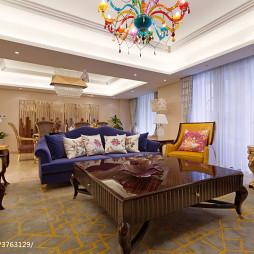 明亮混搭风格客厅设计