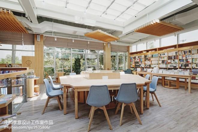 泸州壹间书店室内设计效果图