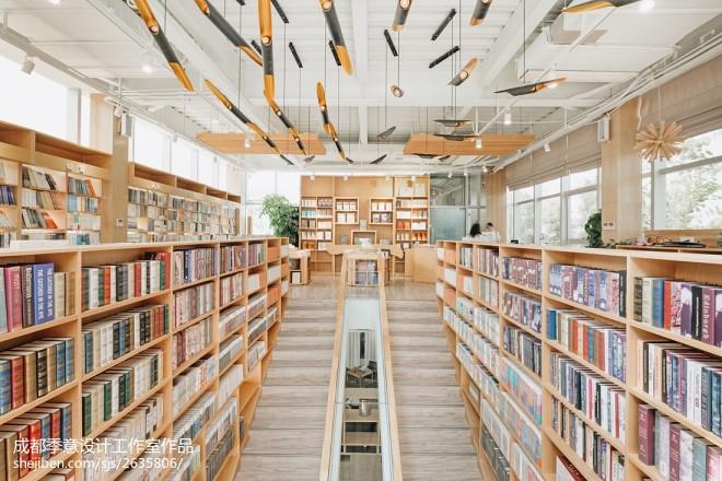 泸州壹间书店楼梯设计