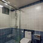 简单美式风格卫浴装修