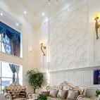 欧式风格别墅客厅效果图