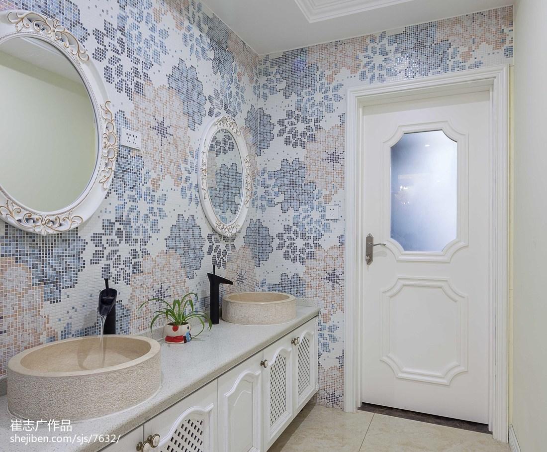 家装欧式风格创意卫浴设计