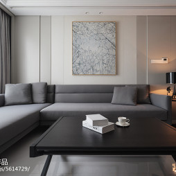 最新现代风格客厅效果图