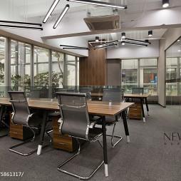 办公空间会议室装修效果图片