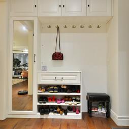 家装美式风格入户鞋柜设计