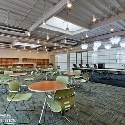 简约风格办公楼休息区设计